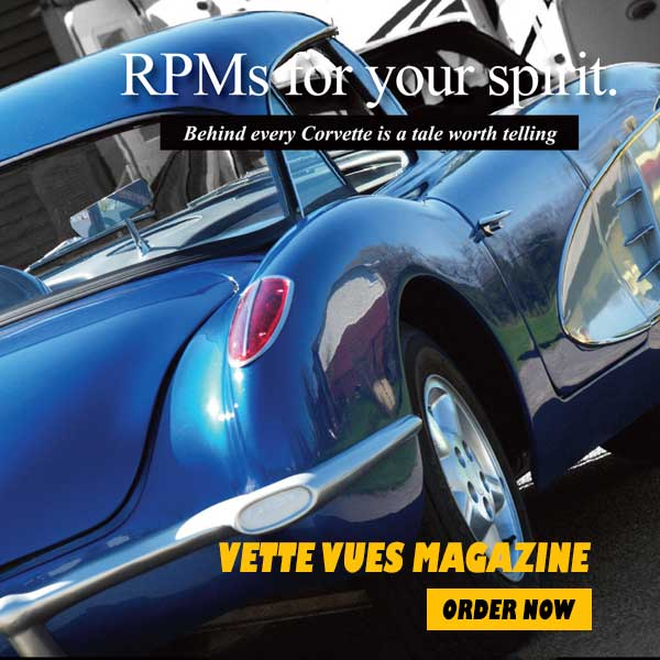 Subscribe to Vette Vues Magazine - Corvette Magazine Subscriptions